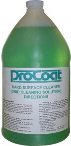 Procoat hard surface cleaner