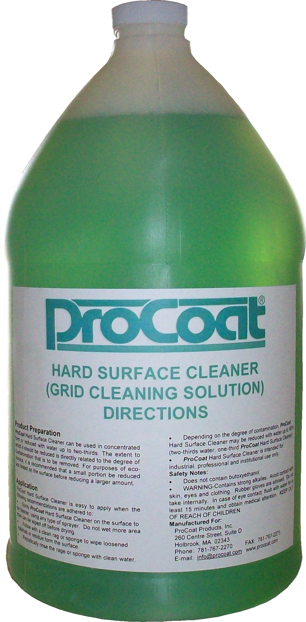 ProCoat Products, Inc. ProCoat Product Line - ProCoat ...
